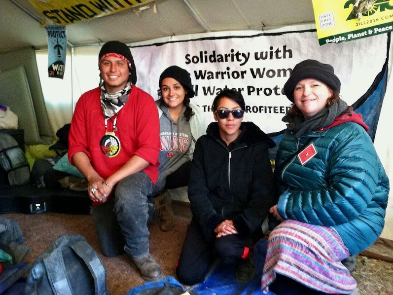 Freedom Socialist: Voices from water protectors at Standing Rock
