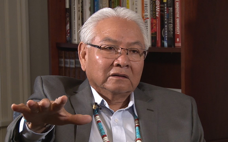 Cronkite News: Navajo Nation school official worried about Trump era cuts