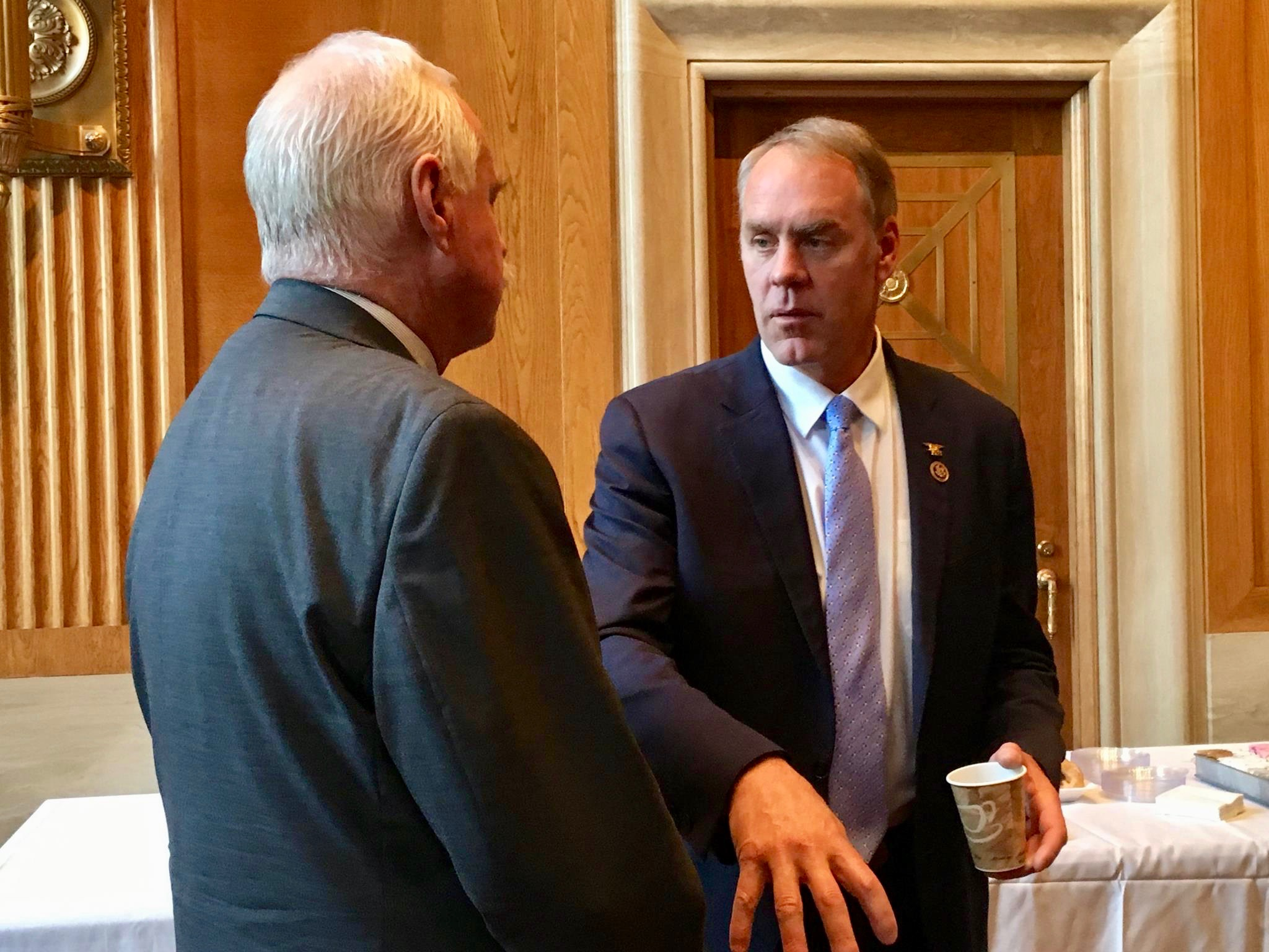 Senate finally ready to consider nomination of Ryan Zinke as Interior Secretary