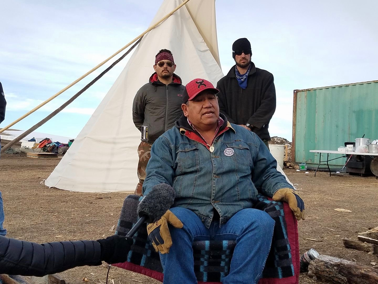 Cheyenne River Sioux Tribe calls out Trump for 'lies' on Dakota Access