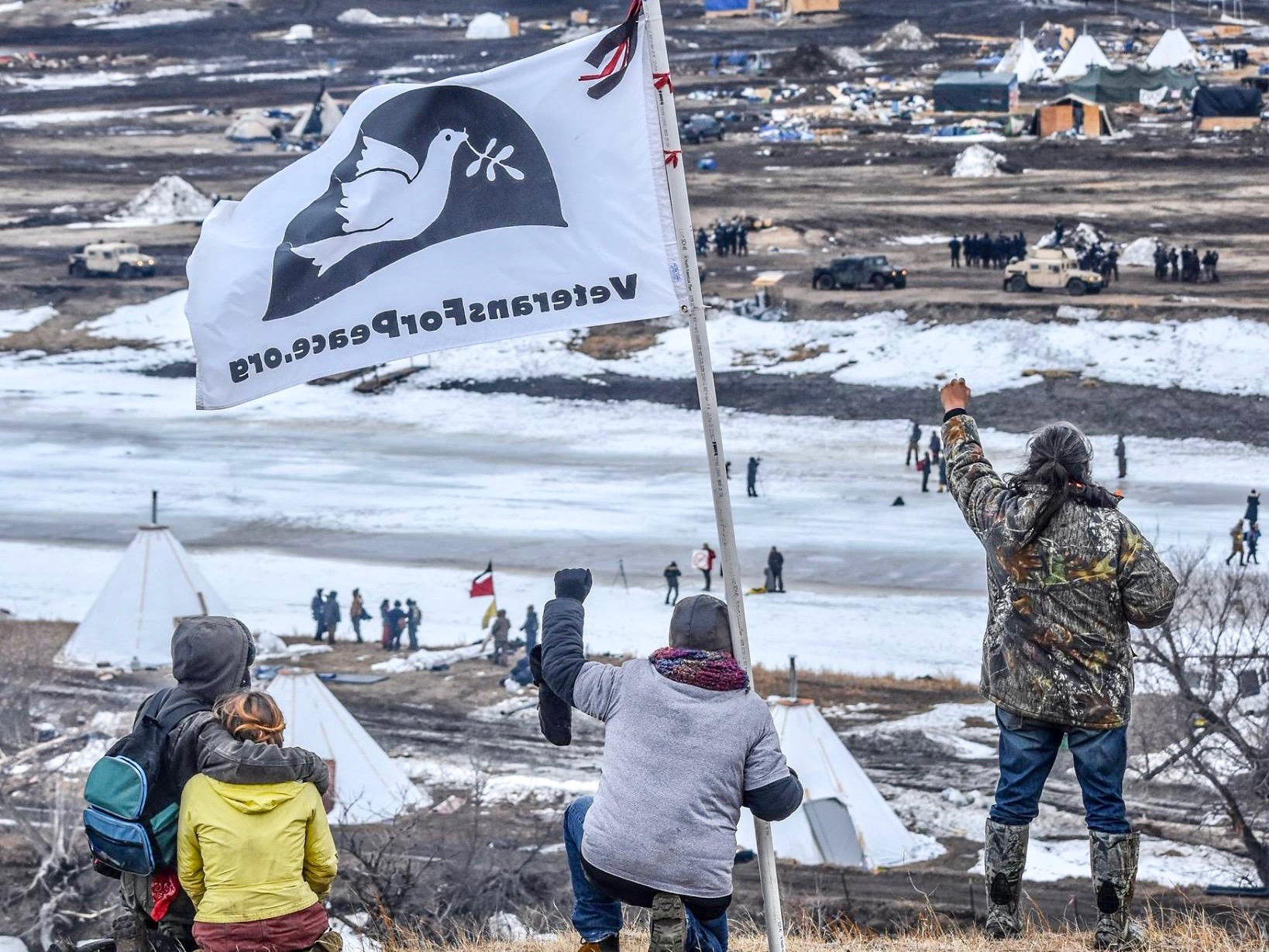 Jenni Monet: Tribes continue legal fight as #NoDAPL camps are evicted