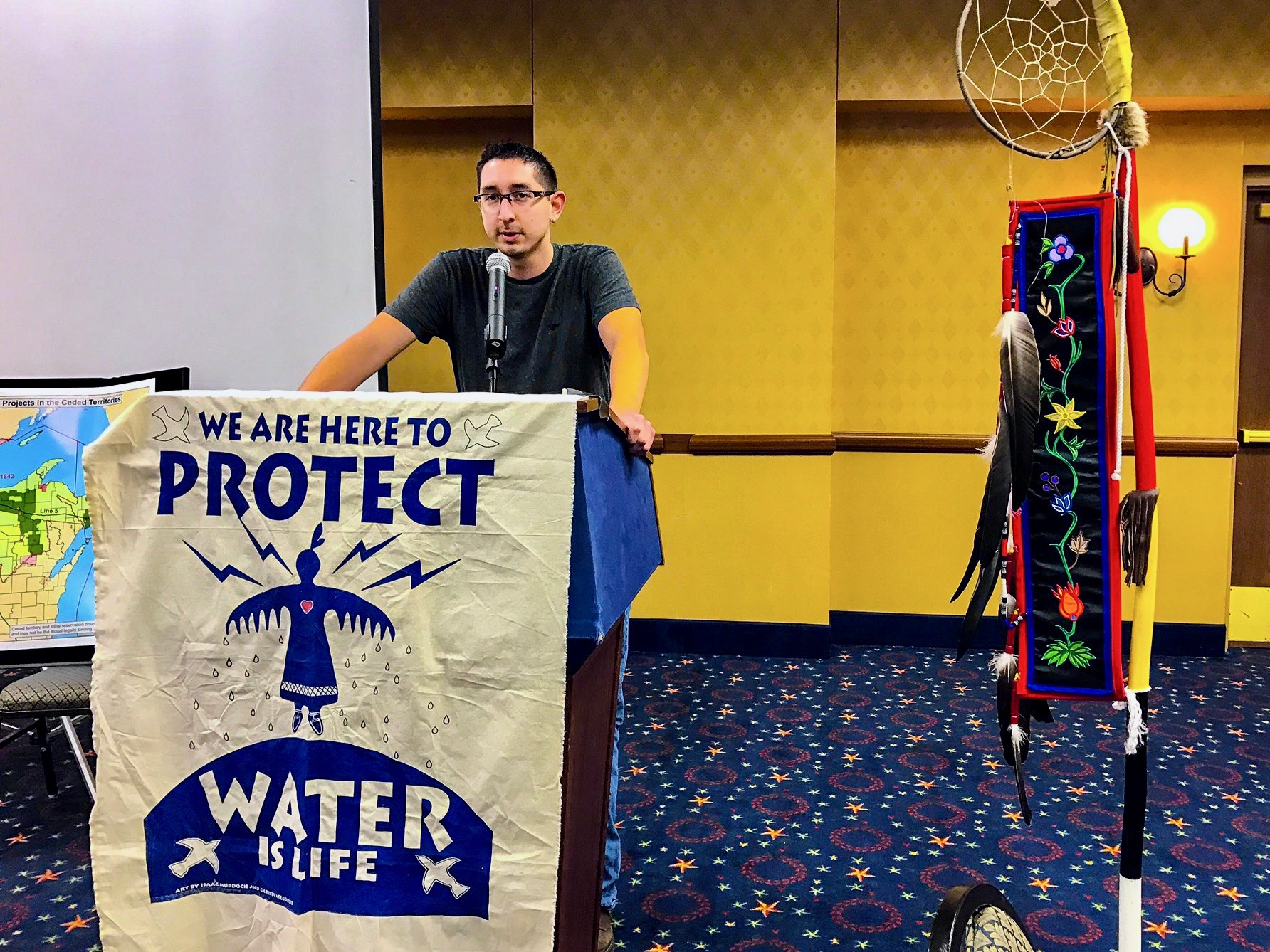 Winona LaDuke: Water protectors are still standing strong all over