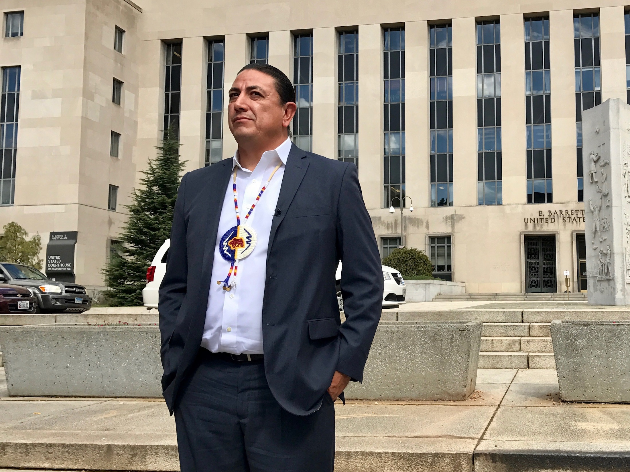 Standing Rock Sioux Tribe leads Native Nations Rise march in Washington