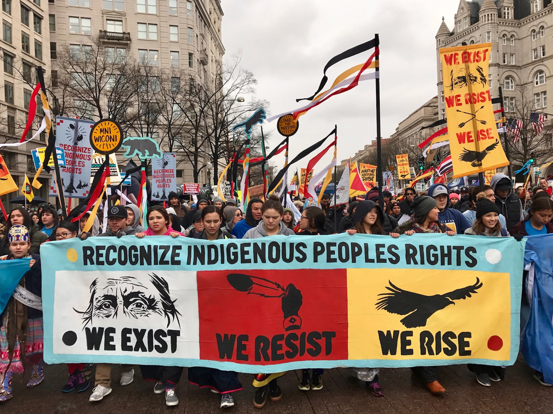 Recap: Thousands march to White House for Native Nations Rise
