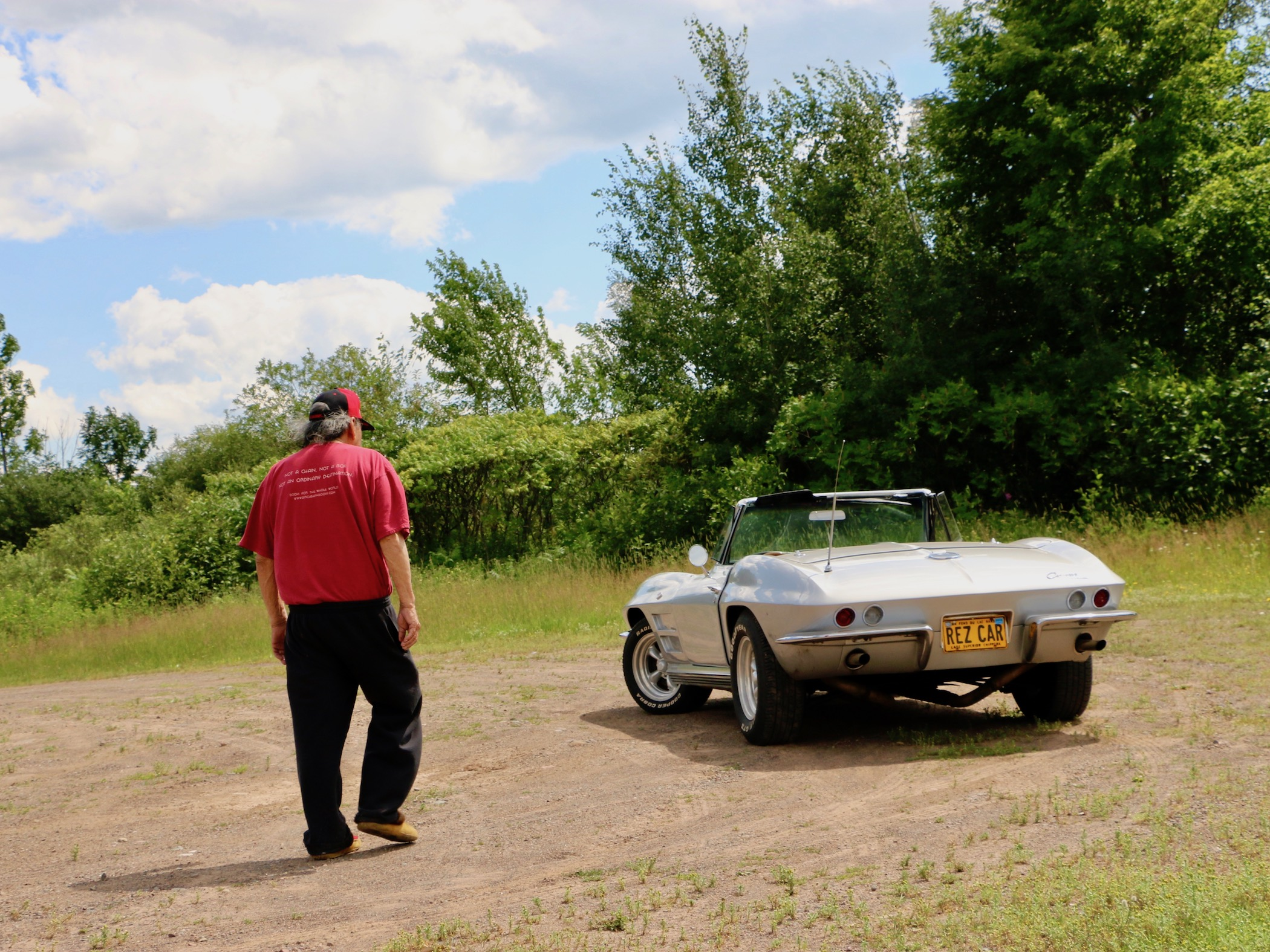 Arne Vainio: Taking Jim Northrup's rez car out for another journey