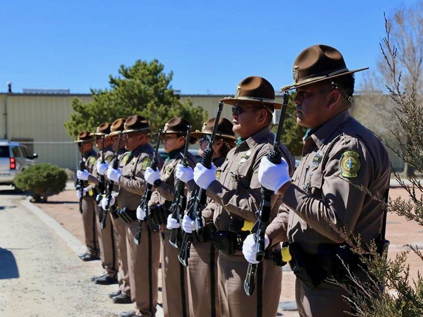 Navajo Nation pays tribute to slain officer with suspect in custody