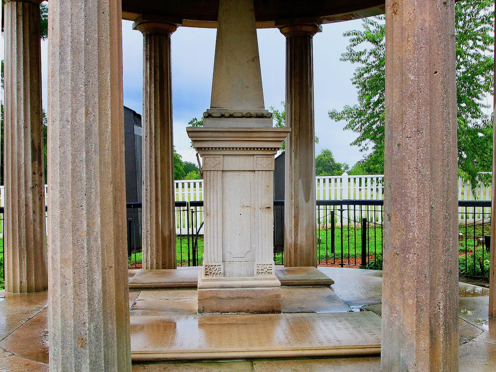Stacy Pratt: Visiting the gravesite of Andrew Jackson in Tennessee