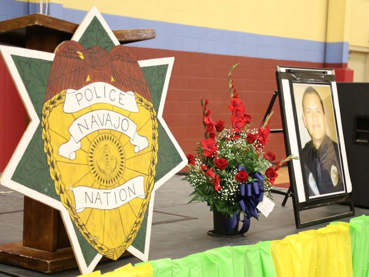 Murder charge filed for fatal shooting of Navajo Nation police officer