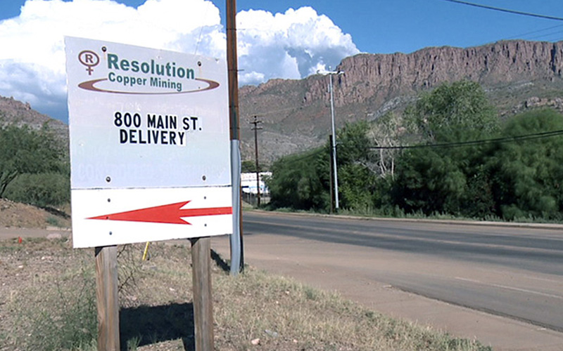 Cronkite News: Copper mine on sacred Apache land in Arizona complains about delays