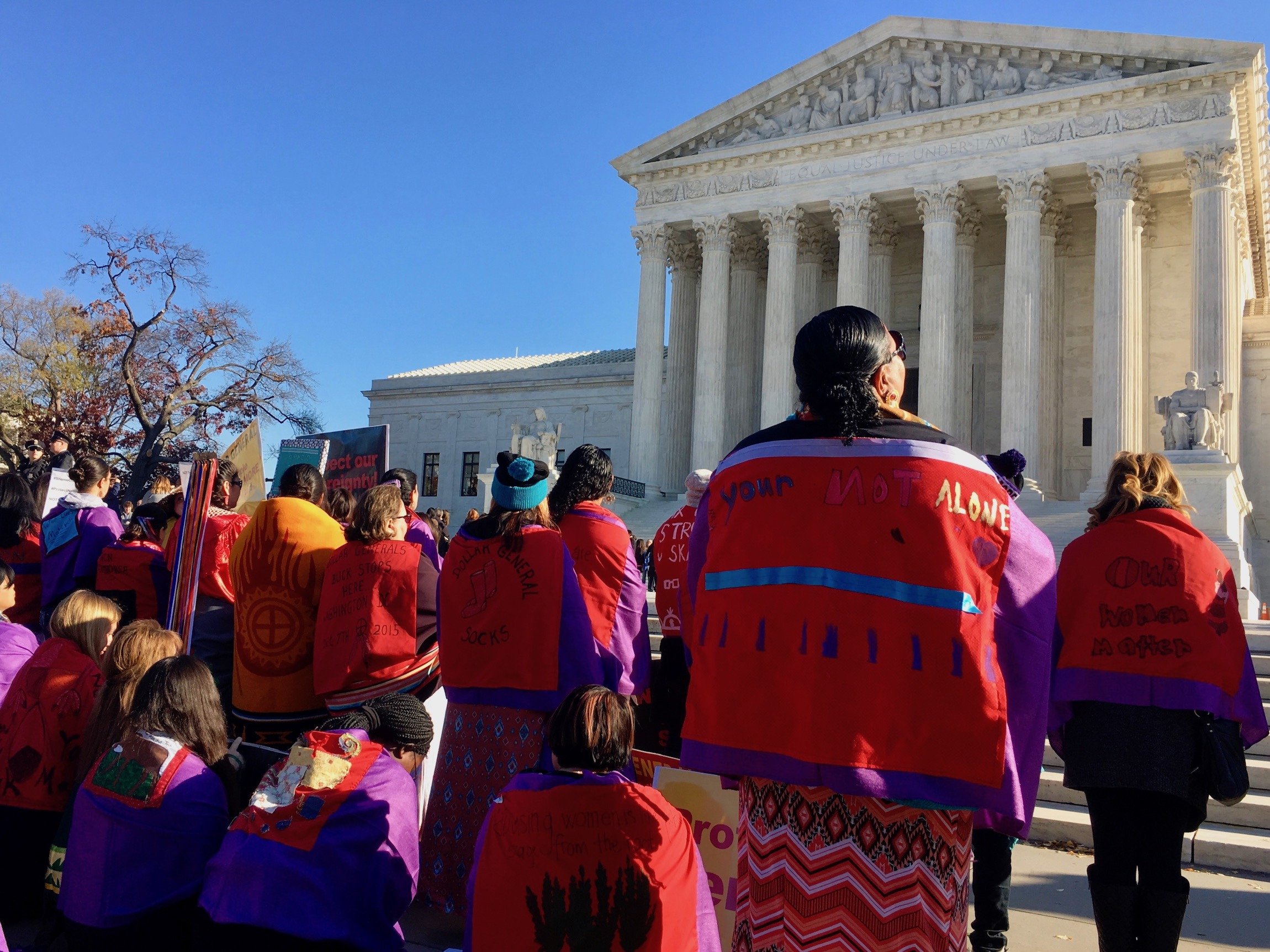 Supreme Court nominee acknowledges poor treatment of 'sovereign' tribes