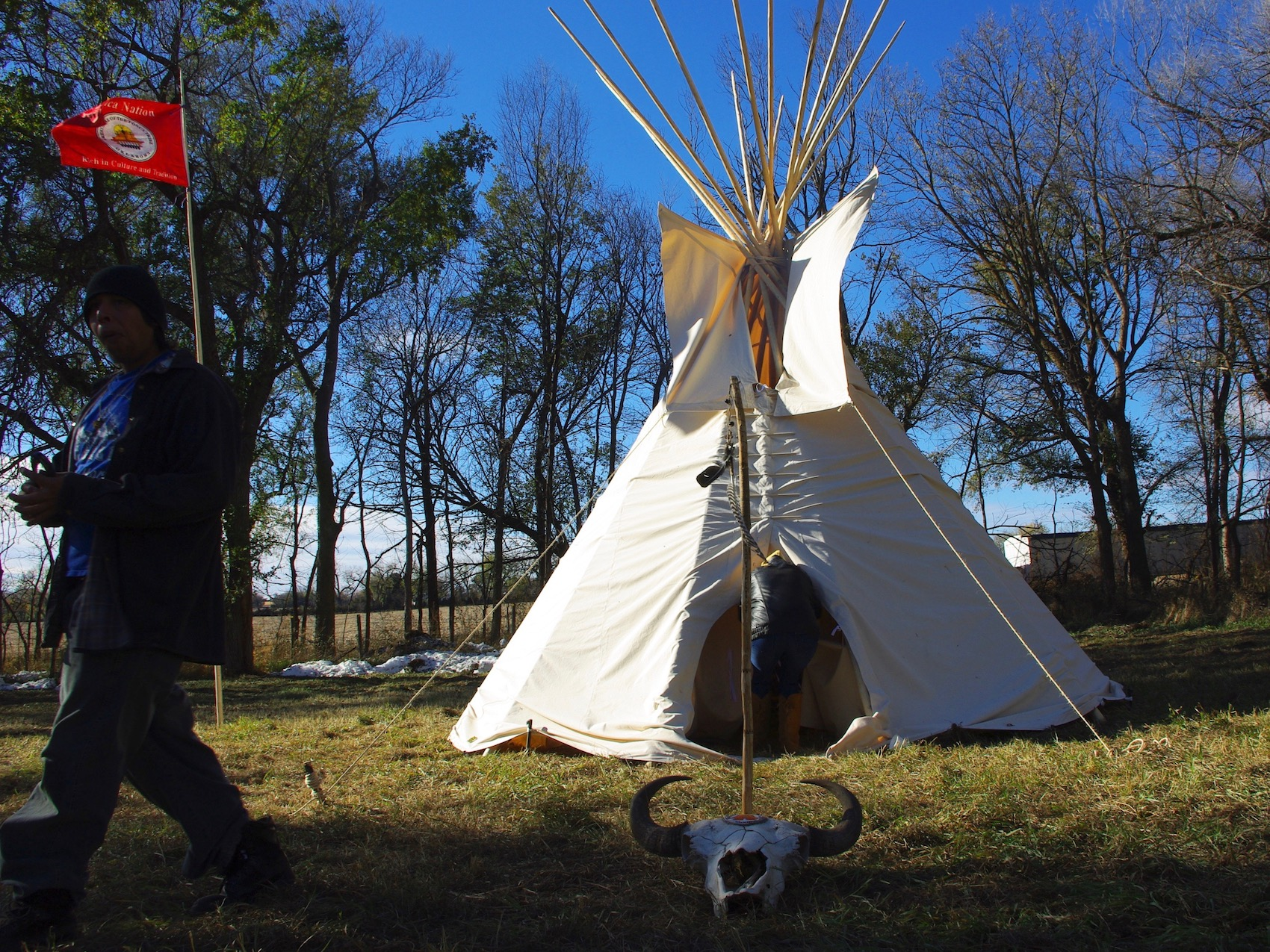 Keystone XL Pipeline route crosses path of Ponca Tribe's forced removal