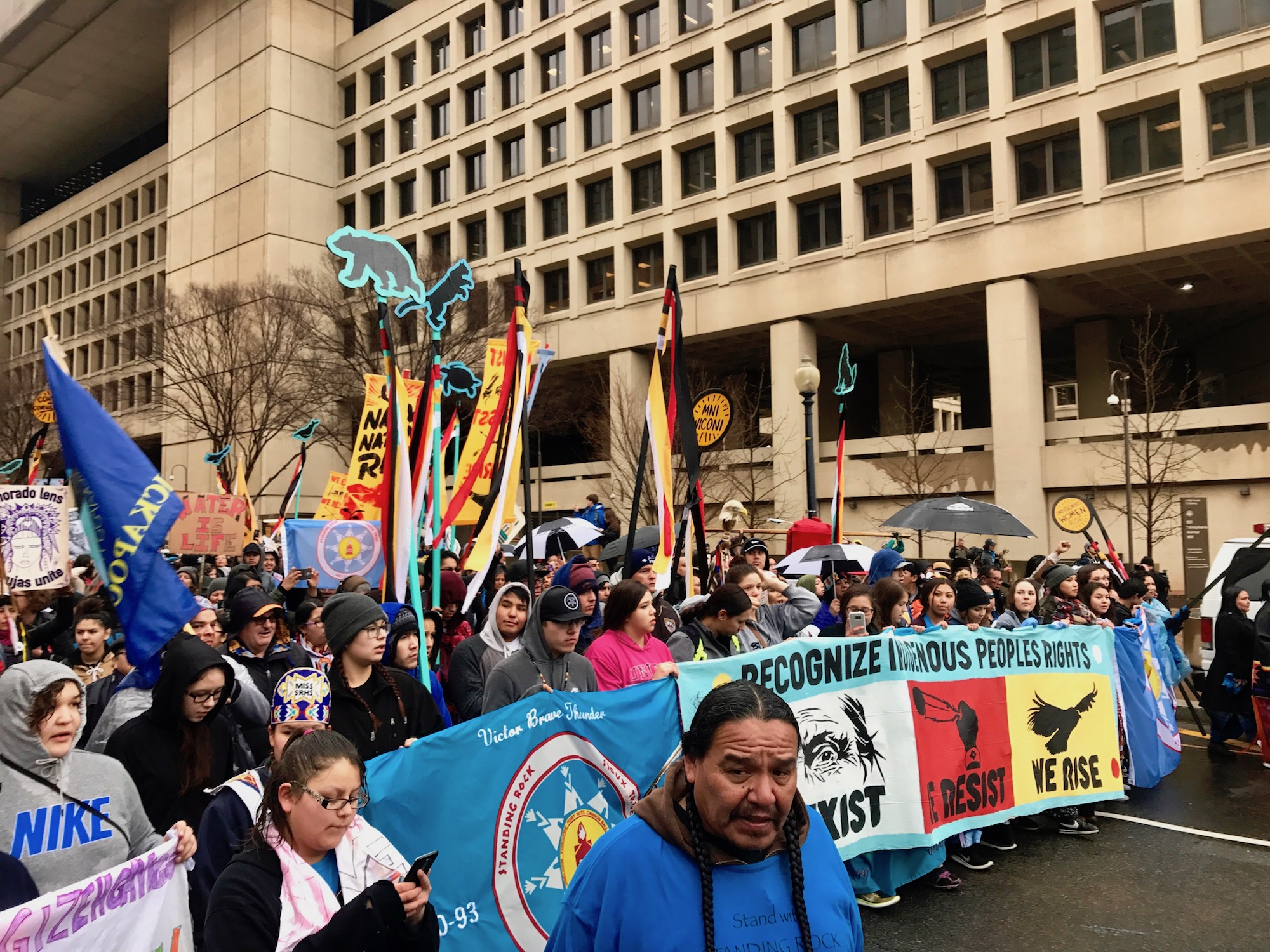 Indian Country mounts another fight after Donald Trump approves another pipeline