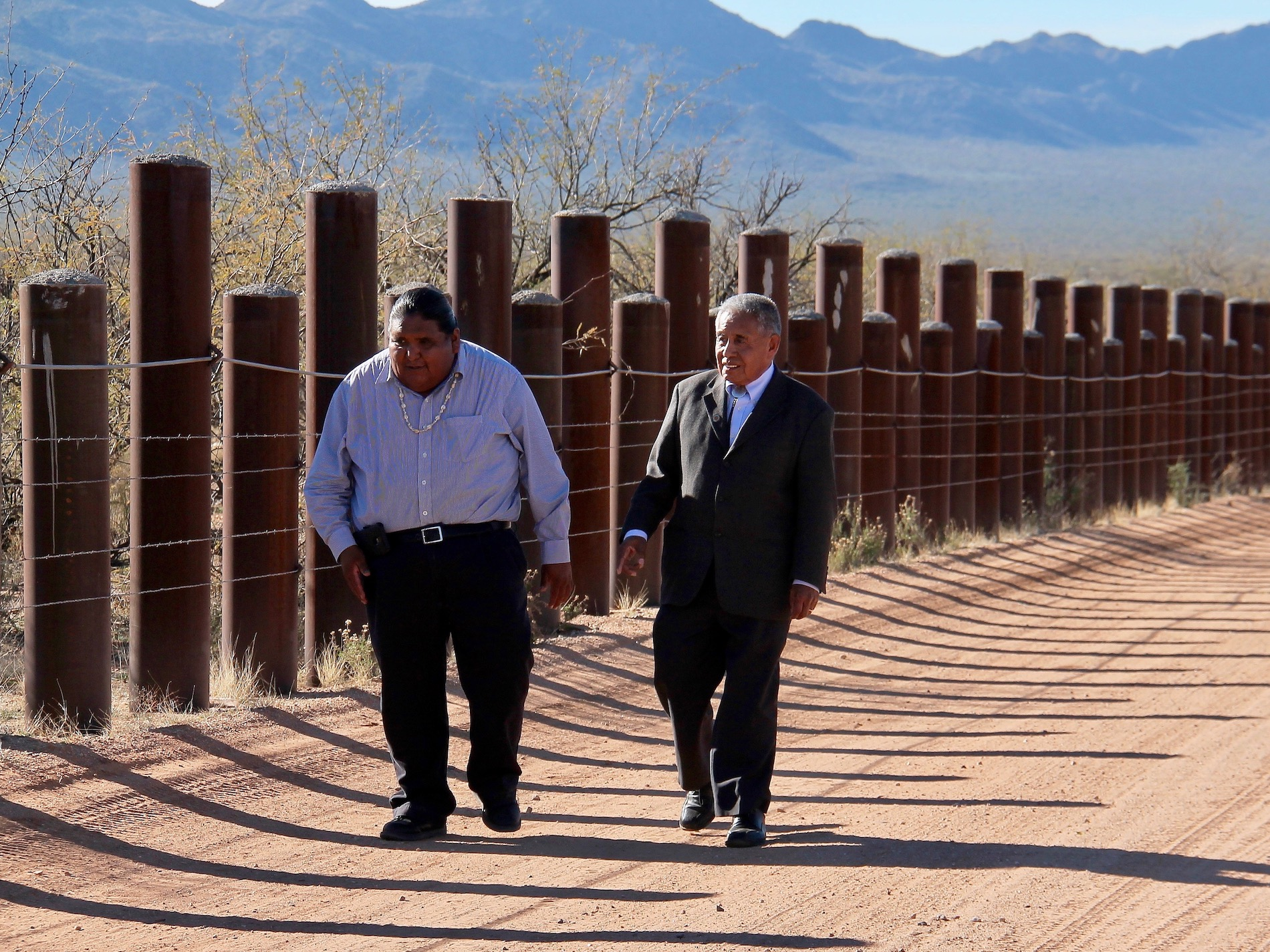 Border wall opposed by Tohono O'odham Nation 'off the table' in D.C.
