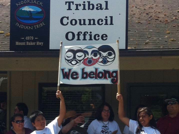 Disputed leader of Nooksack Tribe blames 'non-Indians' for crisis