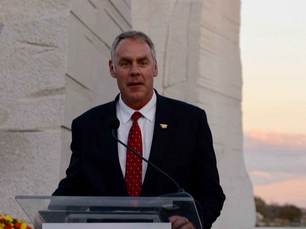 Secretary Zinke opens sacred site in Utah to recreational traffic