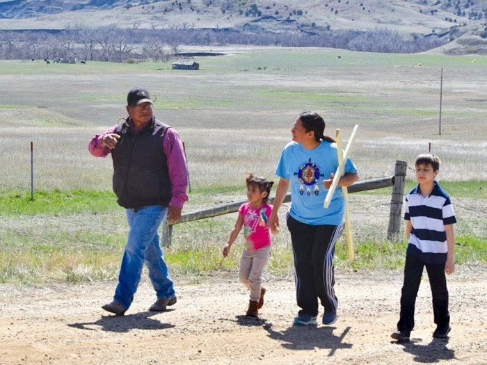 Native Sun News Today: Cheyenne River Sioux woman keeps walking