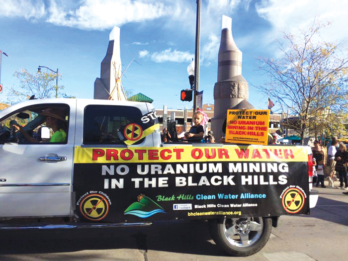 Native Sun News Today: Groups fight uranium mining in Black Hills