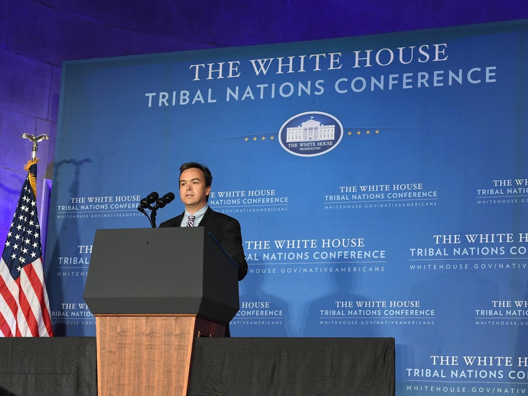 Former top Bureau of Indian Affairs official joins Washington firm