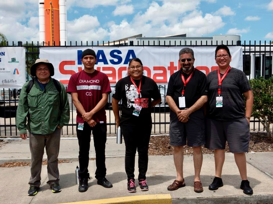 Southwestern Indian Polytechnic Institute team wins NASA prize