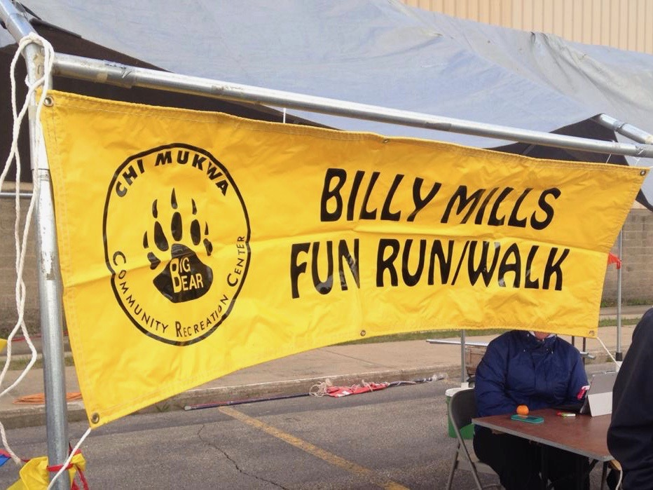 Sault Ste. Marie Tribe hosts Olympian Billy Mills for fun run and walk