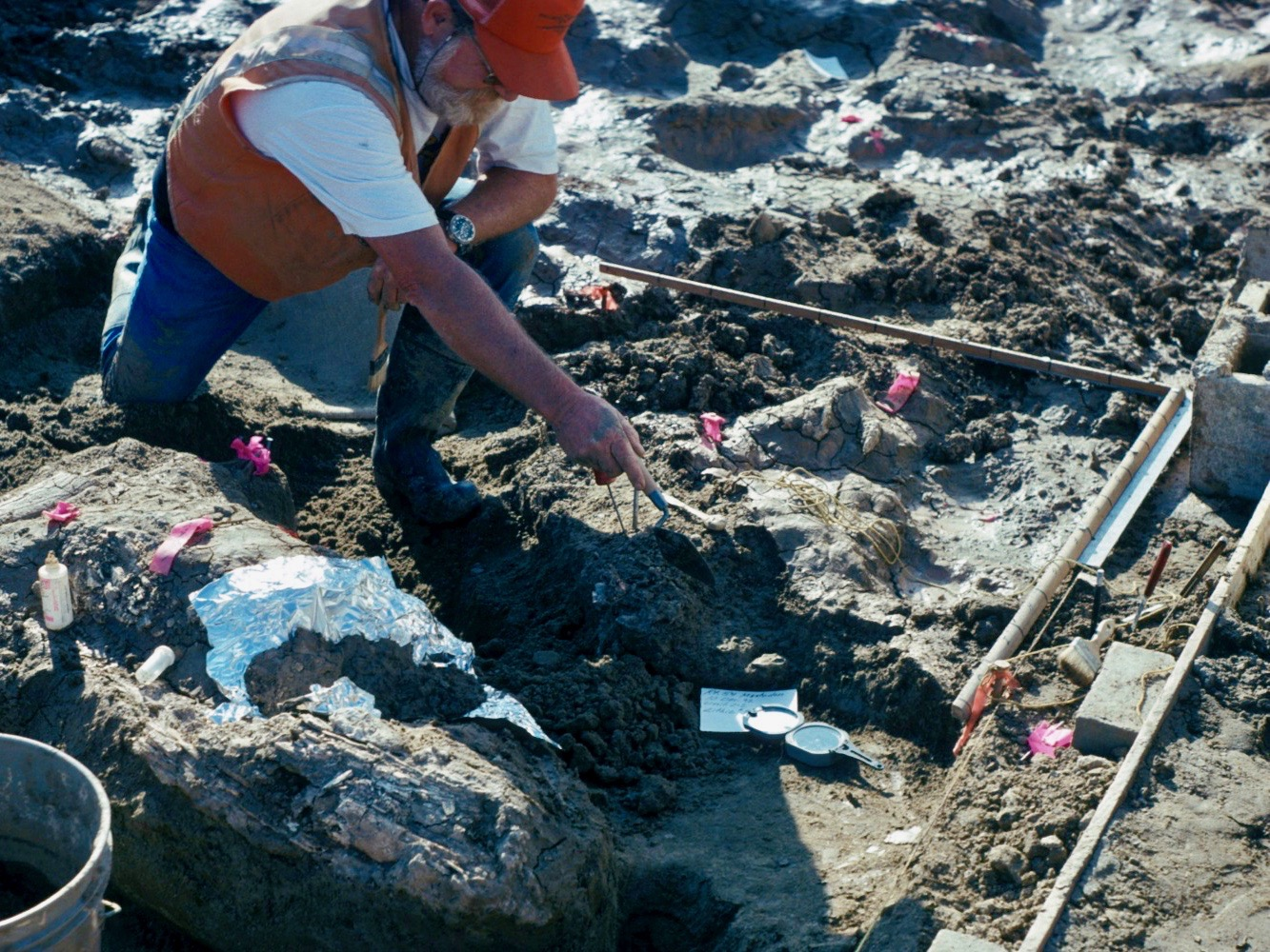 Study finds human presence at 130,000-year-old site in California