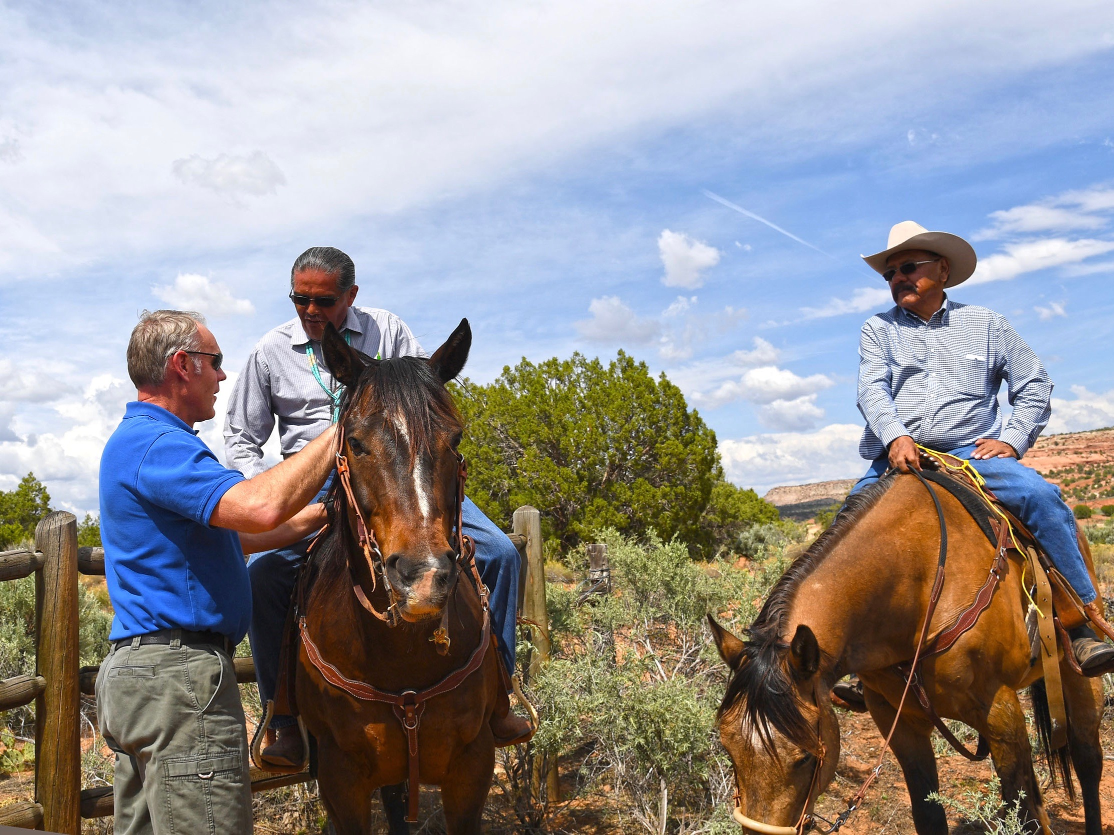Secretary Zinke vows support for sovereignty after 'off-ramp' comments about trust lands