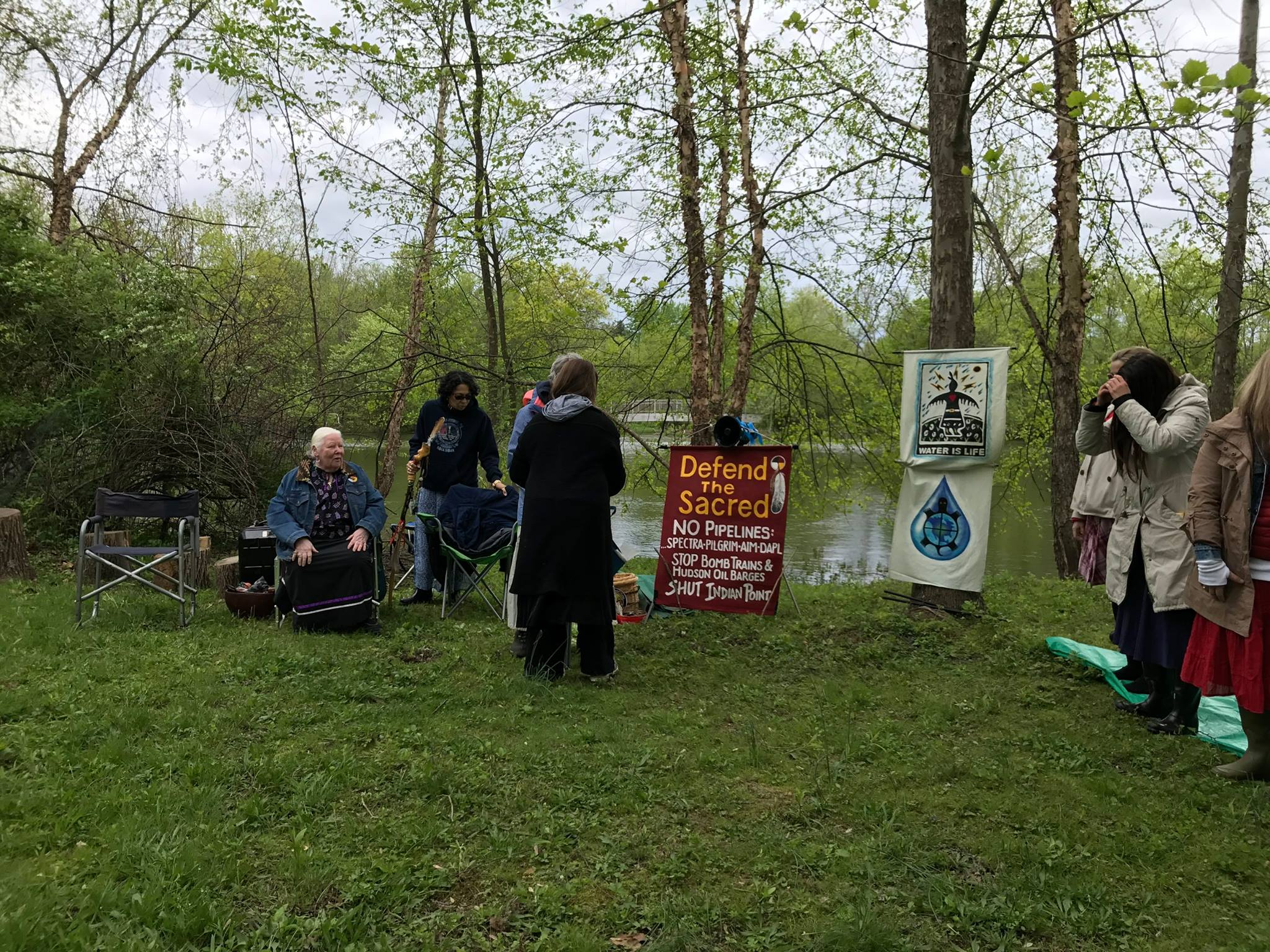 Ramapough Lunaape Nation ordered to take down anti-pipeline camp