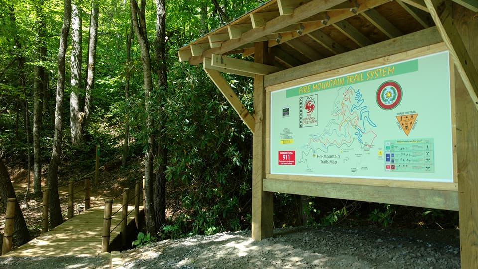 Eastern Band of Cherokee Indians unveil biking and hiking trail system