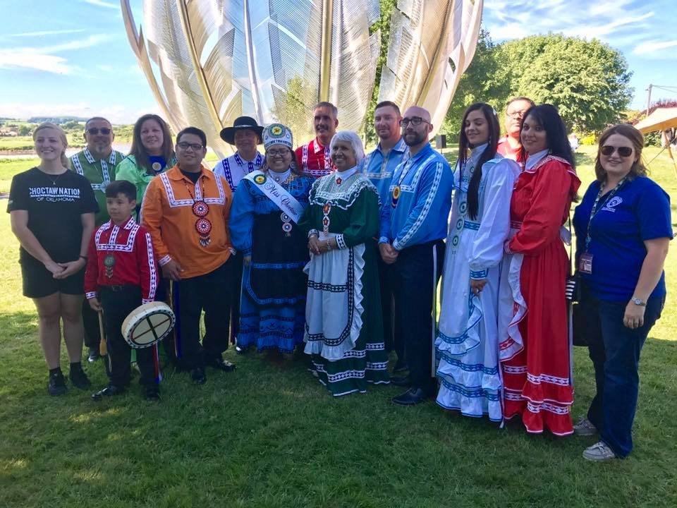 Choctaw Nation travels to Ireland to dedicate 'Kindred Spirits' sculpture