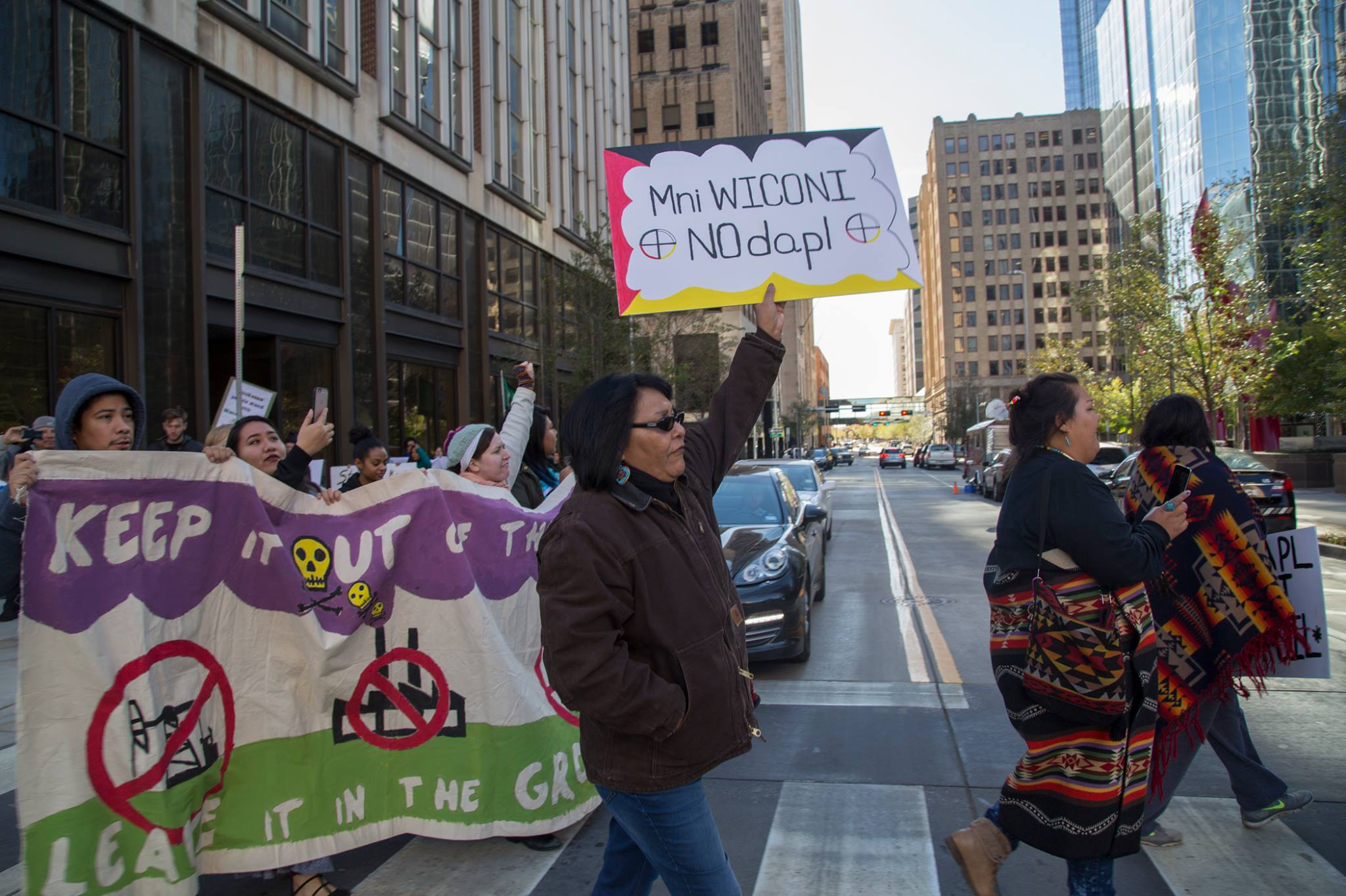 Mark Maxey: Oklahoma tries to crush Native protesters with new law