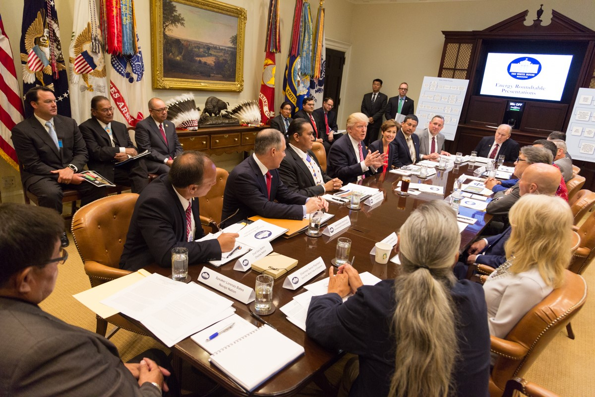 President Trump told tribes to 'just do it' when it comes to energy development