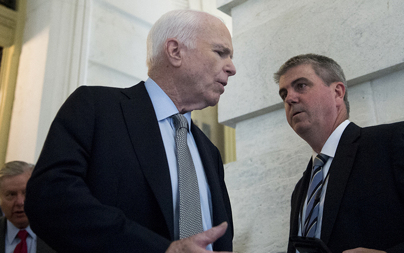 Cronkite News: Sen. McCain calls for compromise as Senate opens health debate