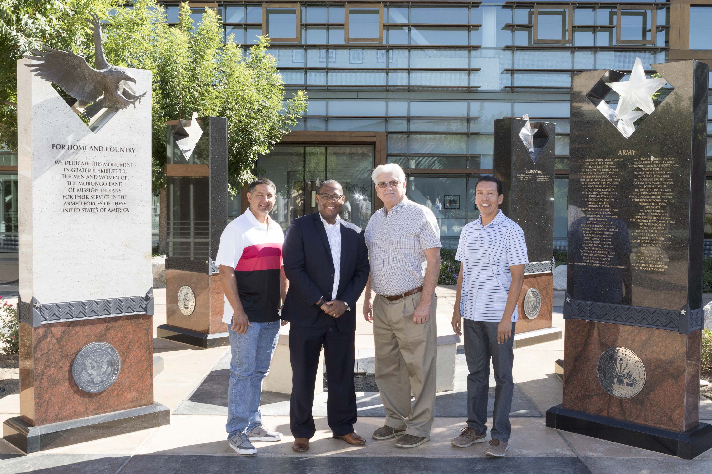 Morongo Band enters into agreement to help tribal veterans secure home loans