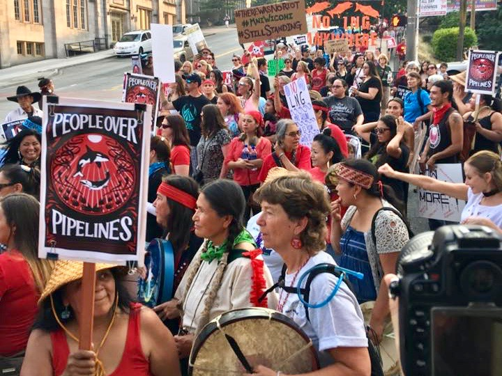 WNV: Puyallup Tribe enters battle against natural gas terminal in Washington