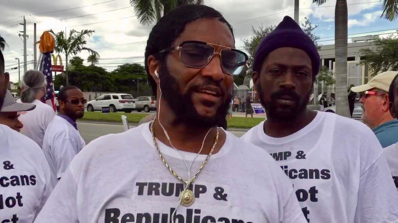 Donald Trump supporter 'Michael the Black Man' offers odd