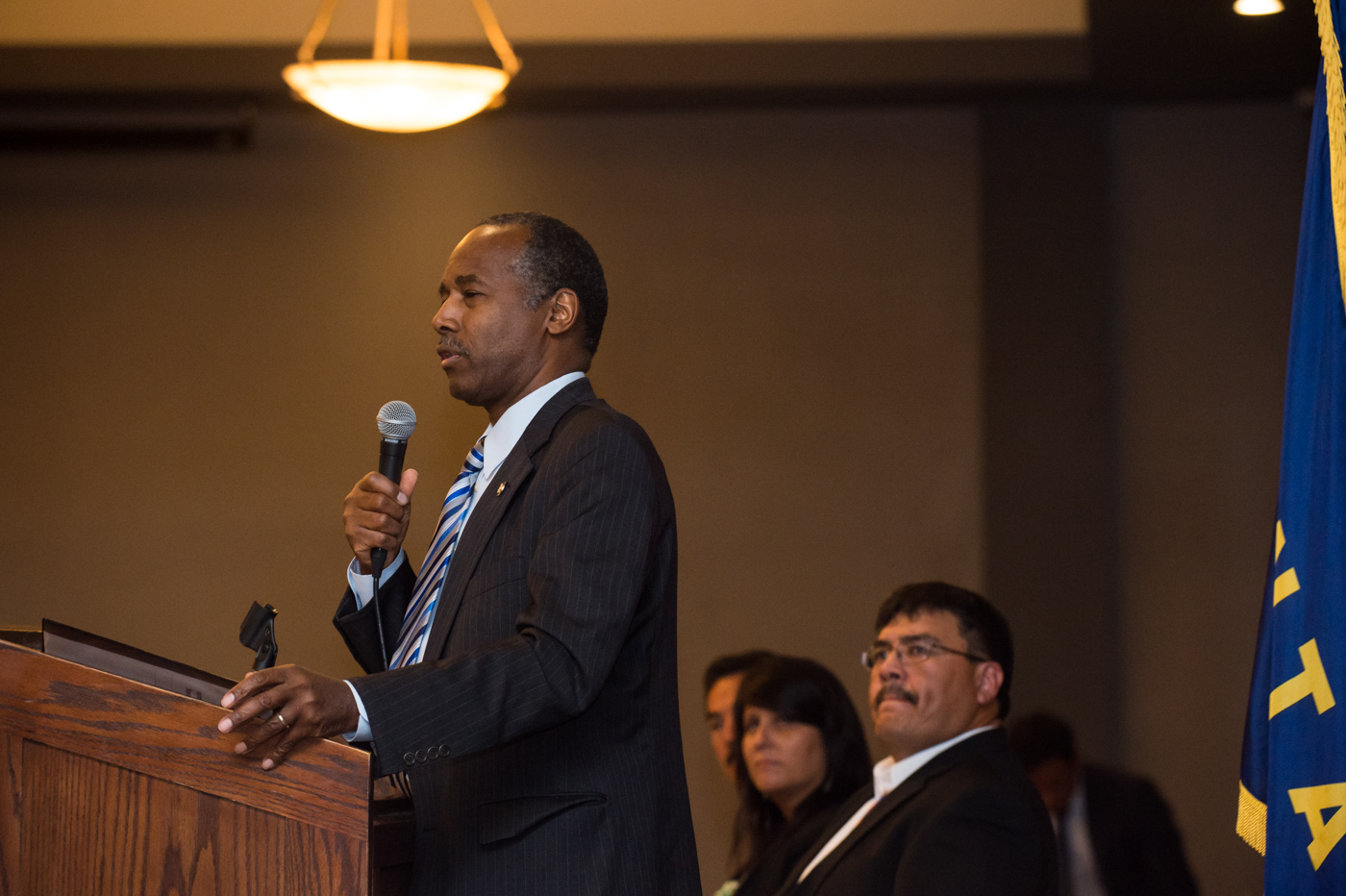 Housing Secretary Ben Carson addresses tribal housing conference in Montana
