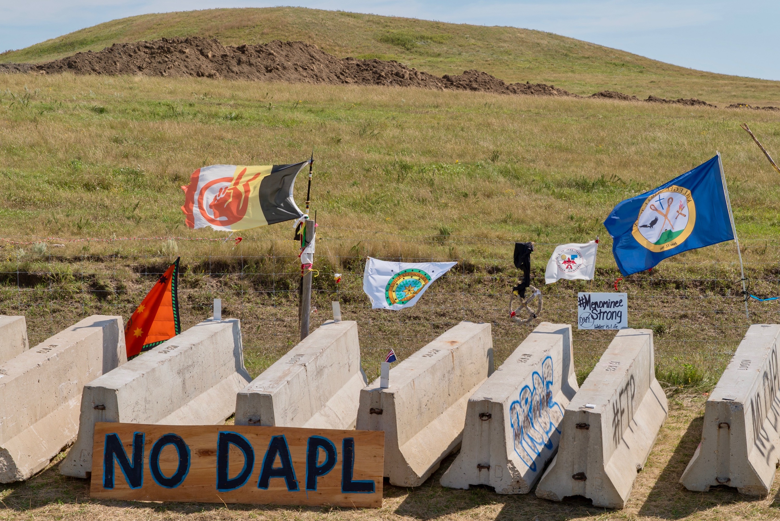 President Trump visits North Dakota after approving controversial Dakota Access Pipeline
