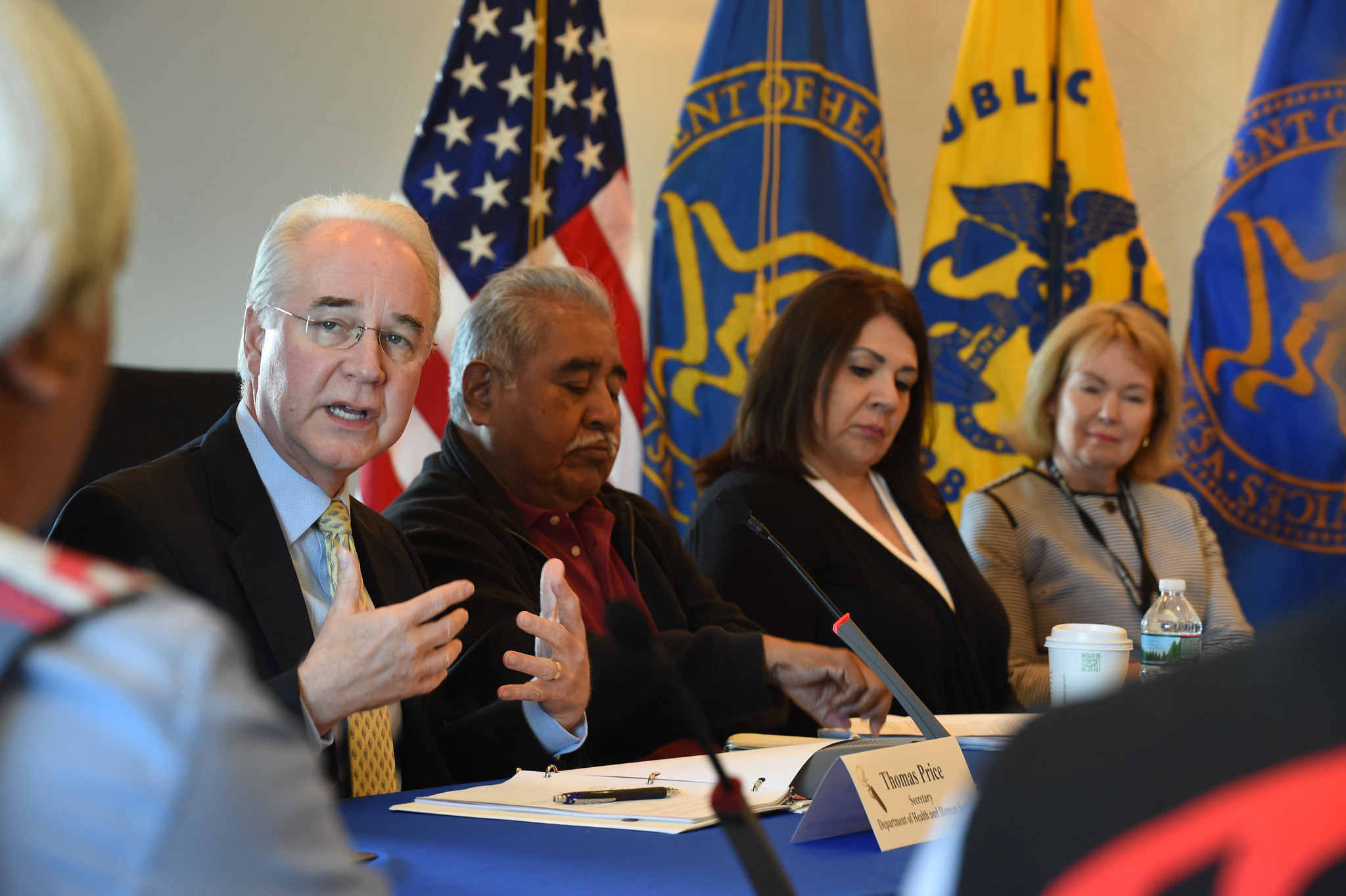Secretary Of Health And Human Services Continues Outreach In