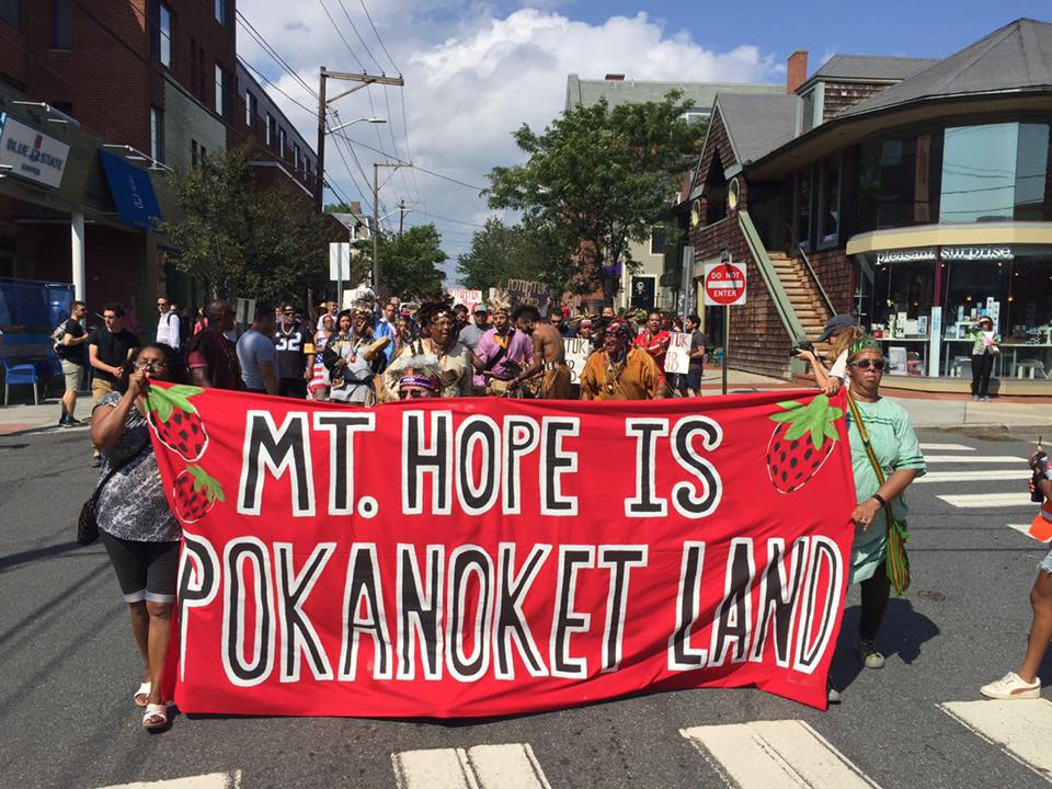 Pokanoket Nation signs agreement to preserve ancestral land in Rhode Island