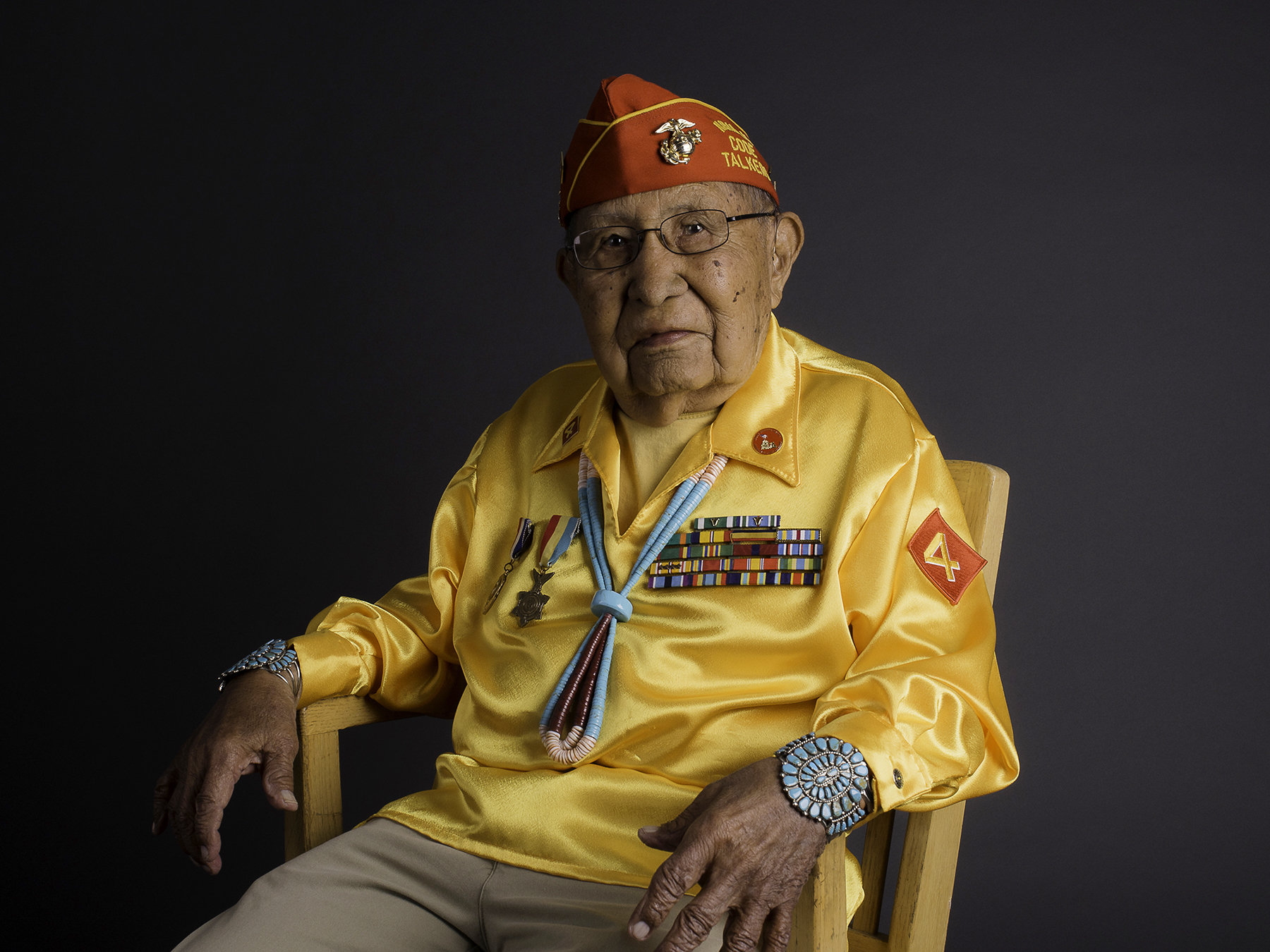 Navajo Nation mourns passing of Code Talker David Patterson Sr. at age of 94