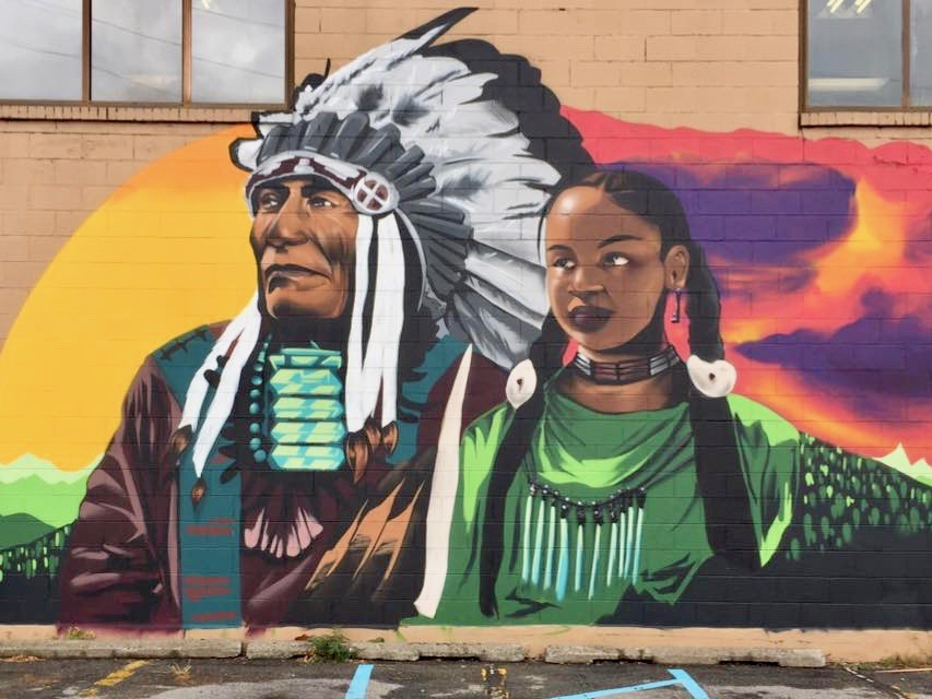 Republican candidate questions mural for depicting Indian people as too 'dark'