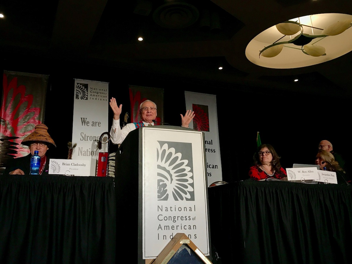 Decision day for National Congress of American Indians with leadership changes