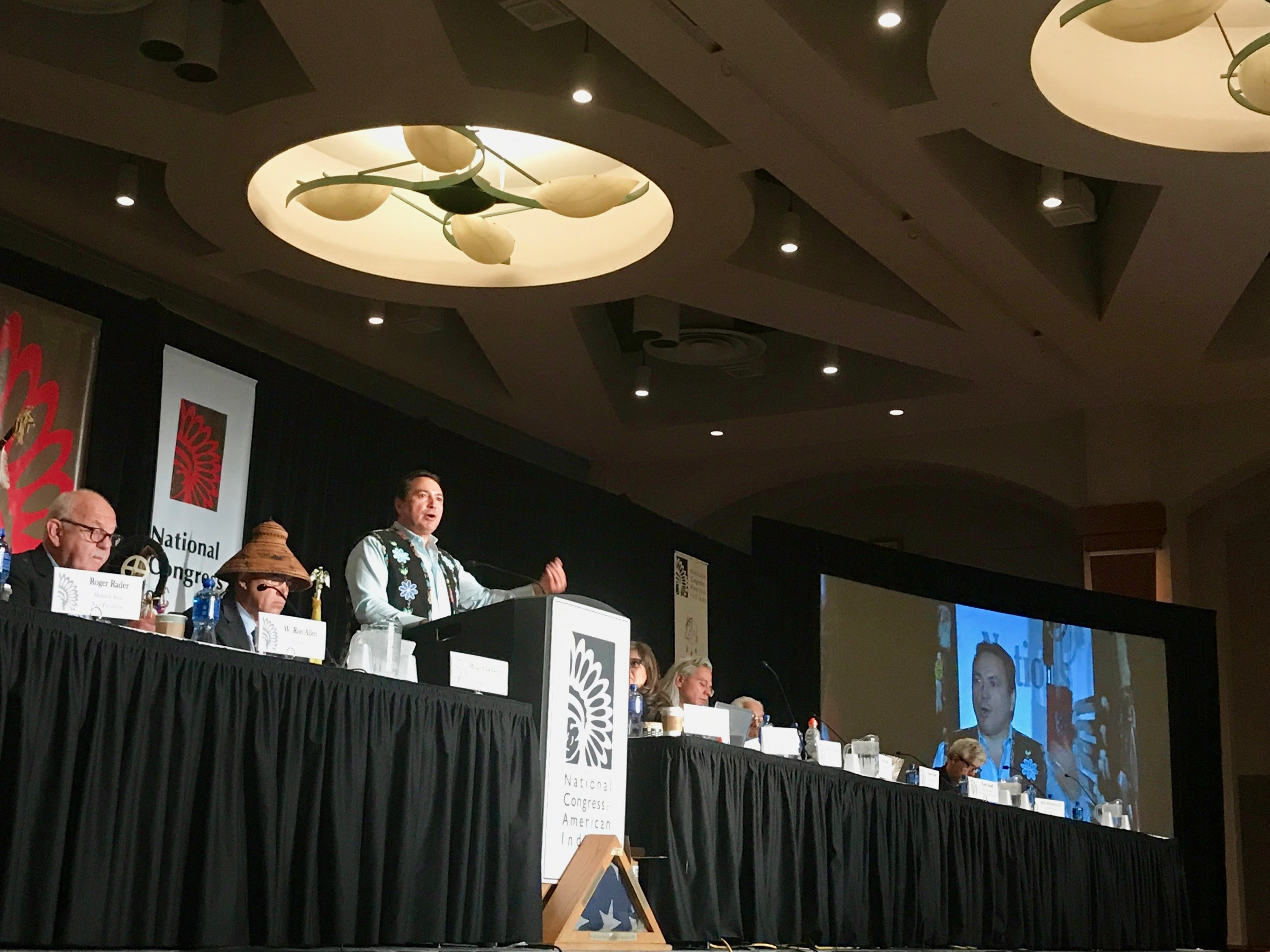 National Congress of American Indians backs Native component for trade agreement