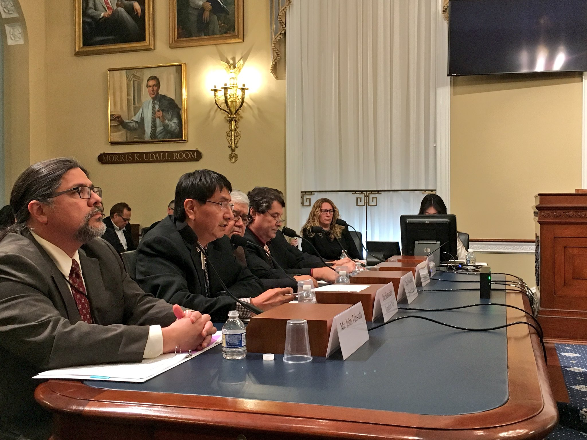 Tribes press Congress for greater authority -- including taxation -- over their lands
