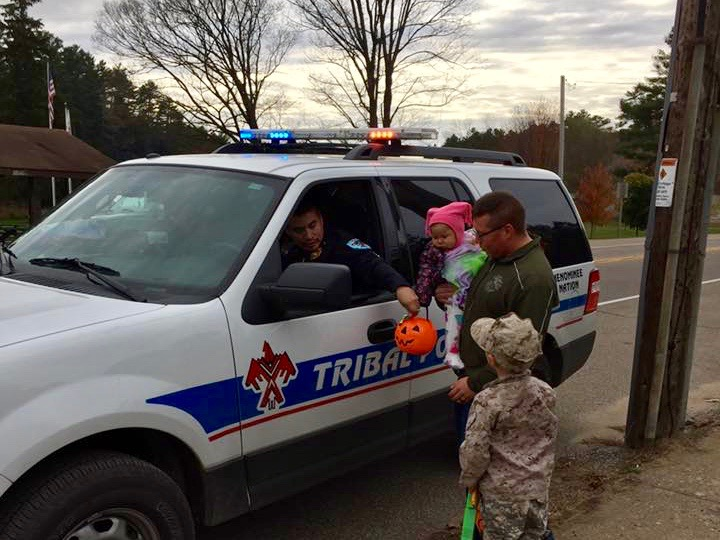 Menominee Nation hosts 'safe' trick-or-treating event after disturbing incident