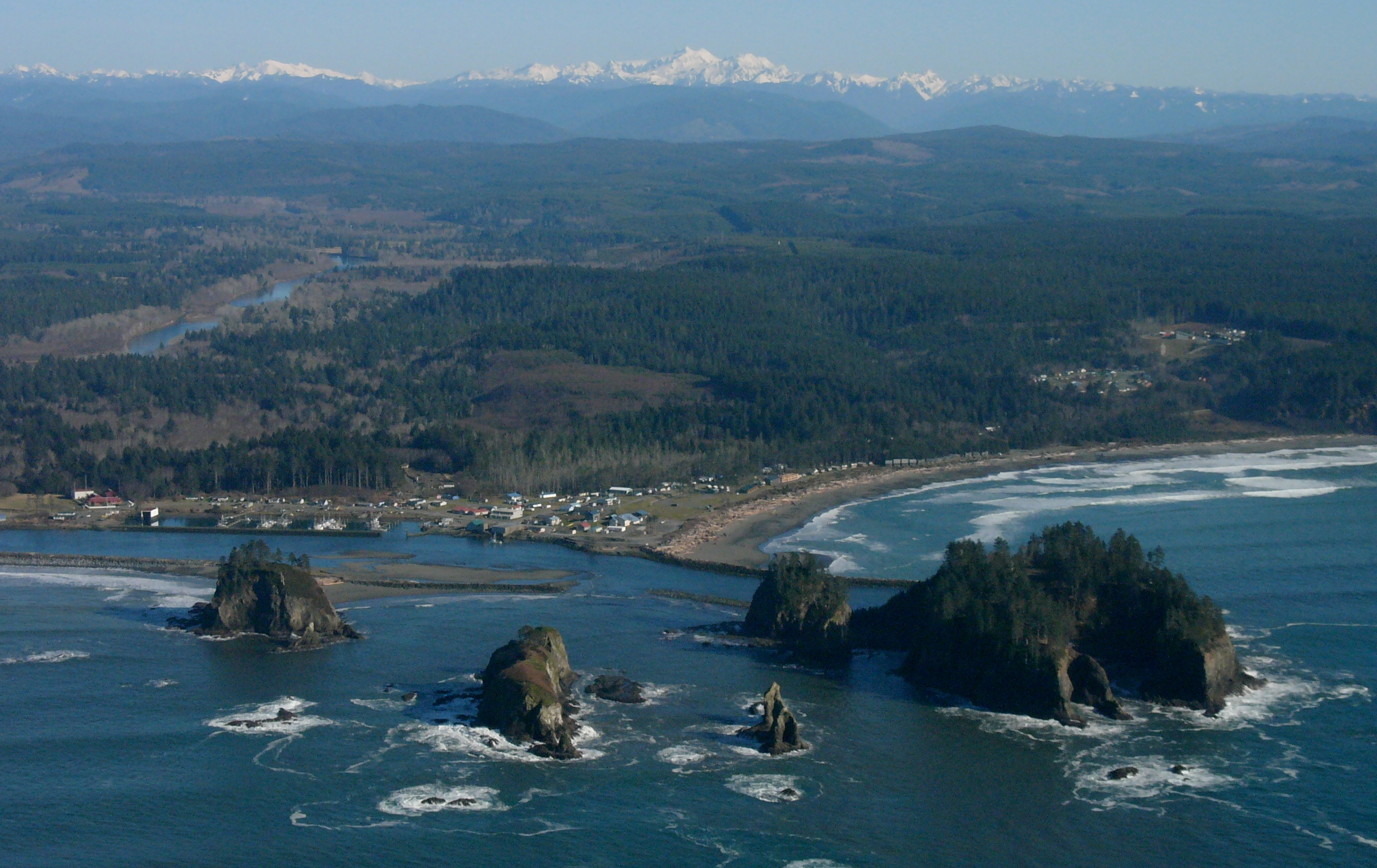 Quileute Tribe starts process to move village to safer ground in Washington