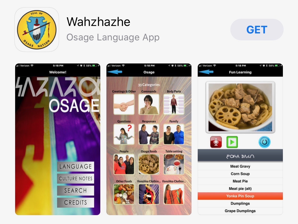 Osage Nation continues language revitalization efforts with mobile application