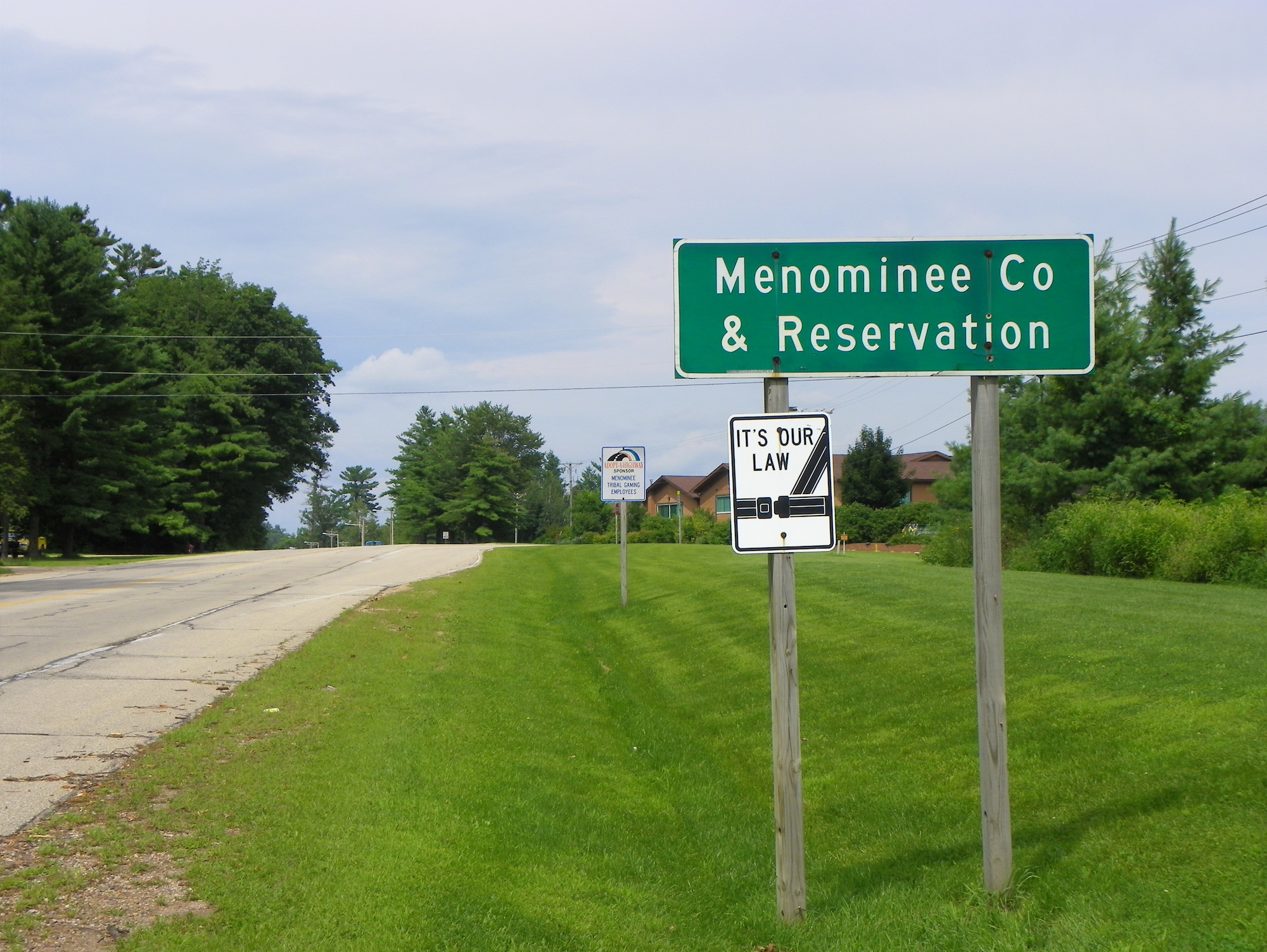 Menominee Nation fires policer officer accused of 'inappropriate' contact with minor
