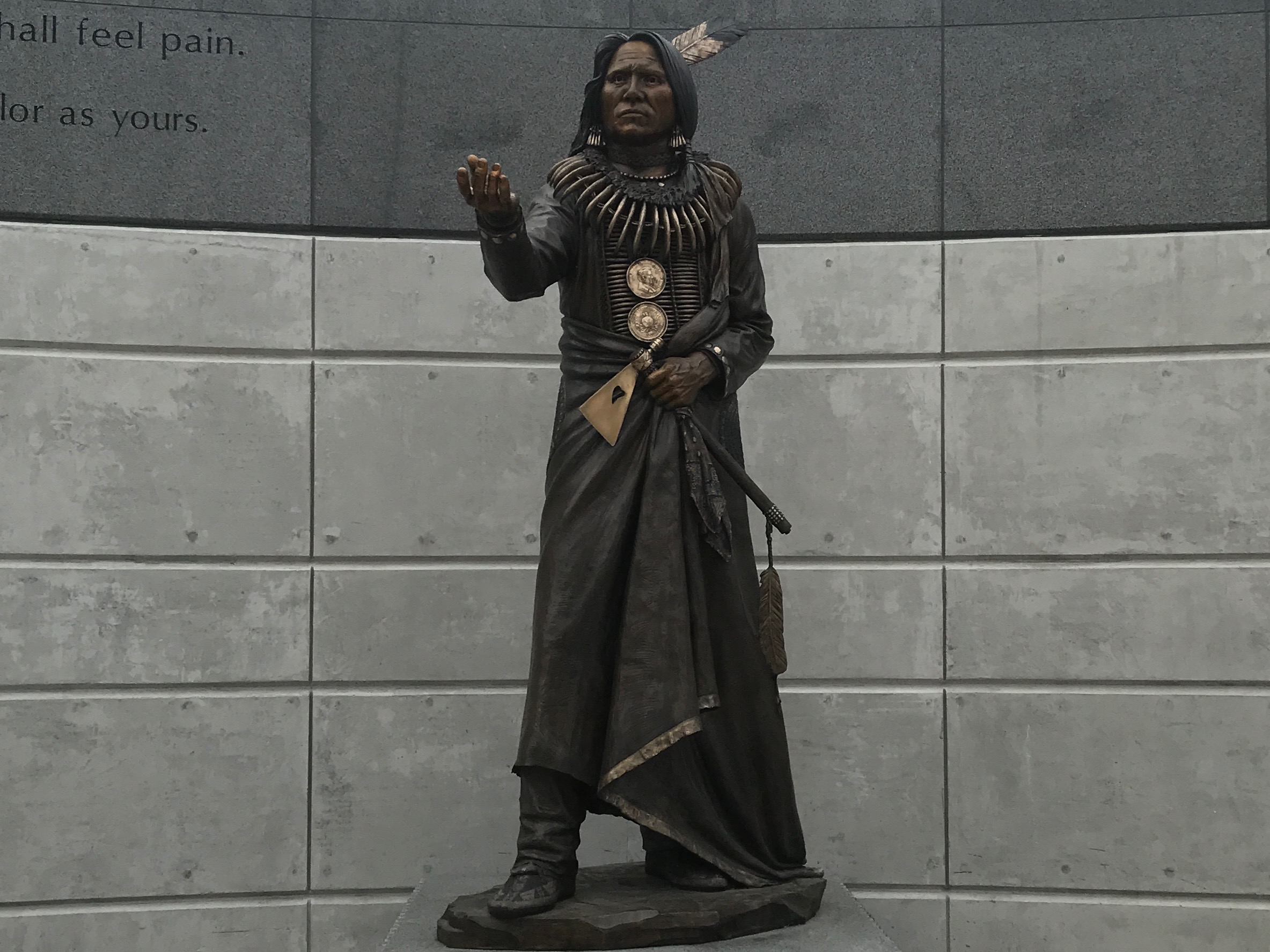 Ponca Chief Standing Bear - Centennial Mall - Lincoln, Nebraska