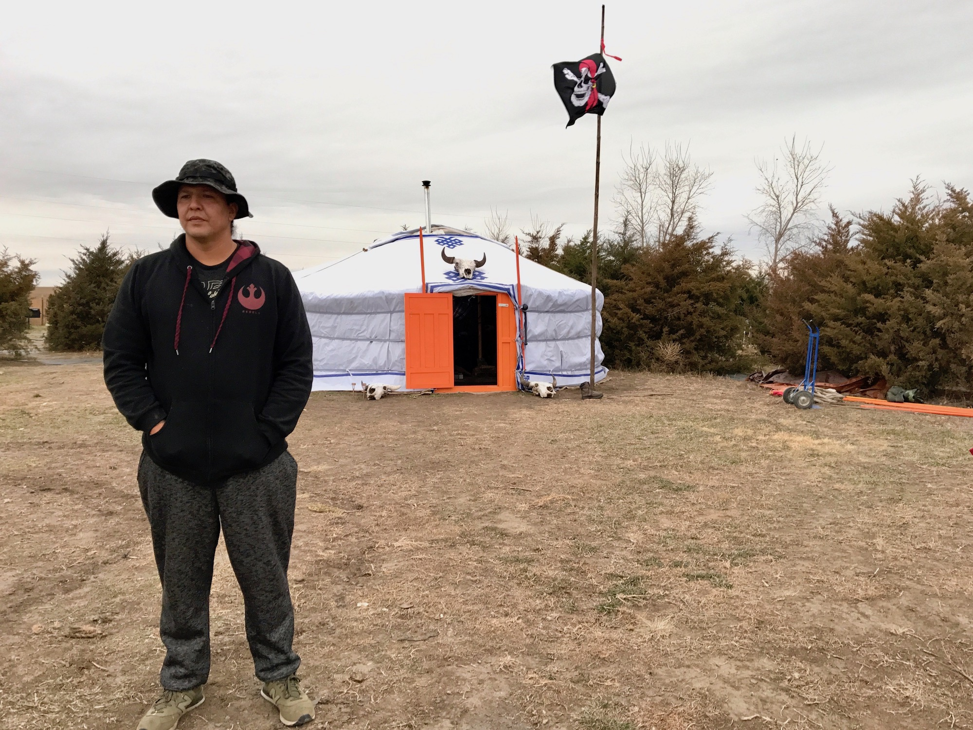 Wiconi Un Tipi Camp rises to fight back against another controversial pipeline